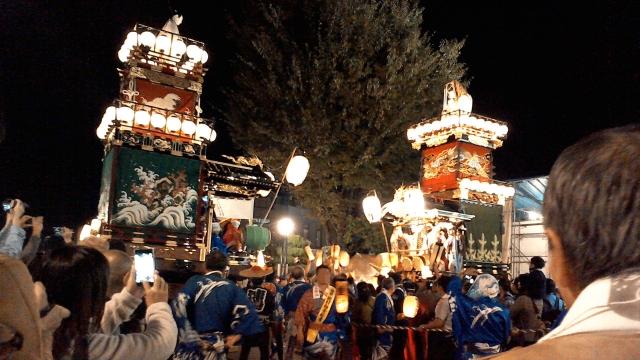 川越祭り 見所