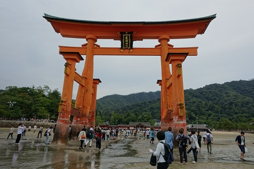 宮島 厳島神社 干潮時間