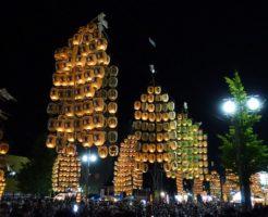 秋田 竿灯祭り 日程