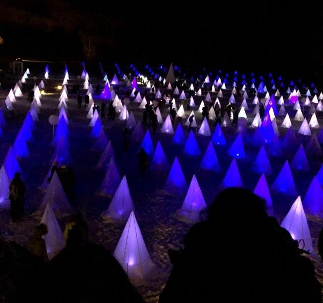 十勝川温泉の冬のイベント 十勝川白鳥まつり彩凛華の期間や駐車場事情