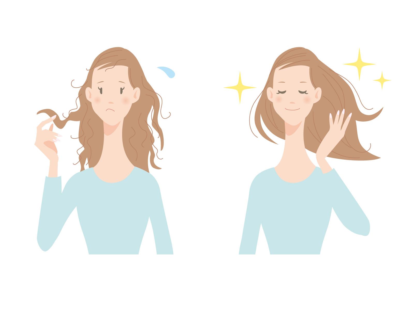 髪の毛 日焼け パサパサ