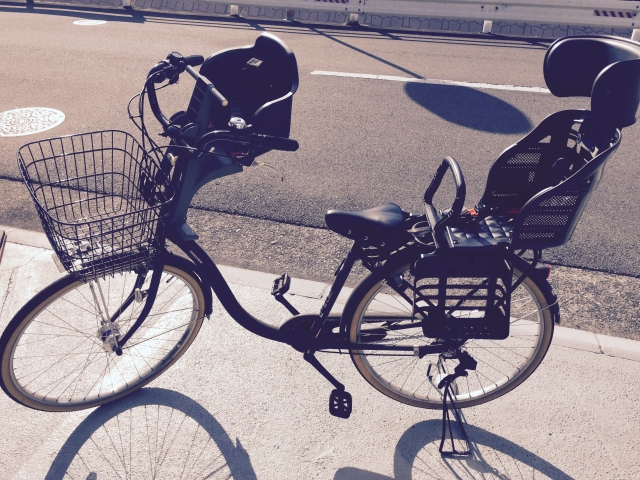子供乗せ自転車 日焼け対策