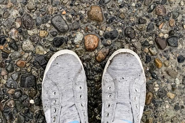 濡れた靴 早く 乾かす方法