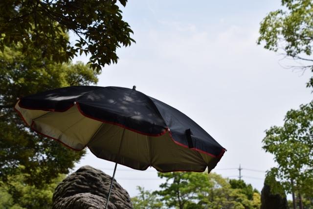 曇り 紫外線 日傘