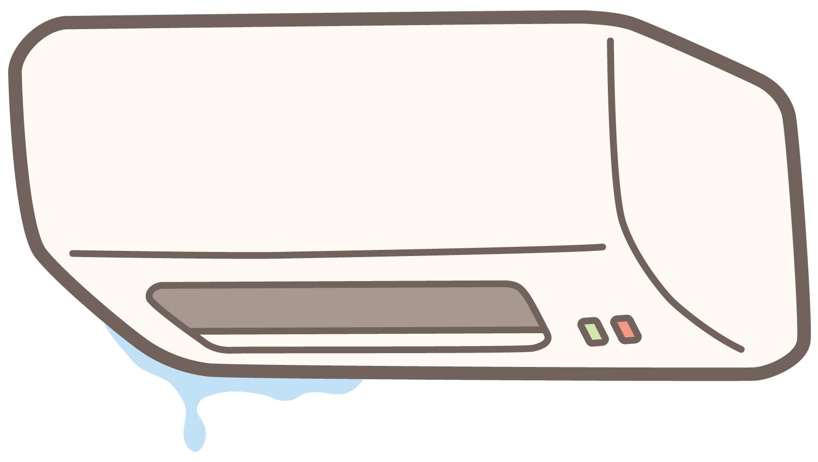 エアコン 水漏れ 使い続ける