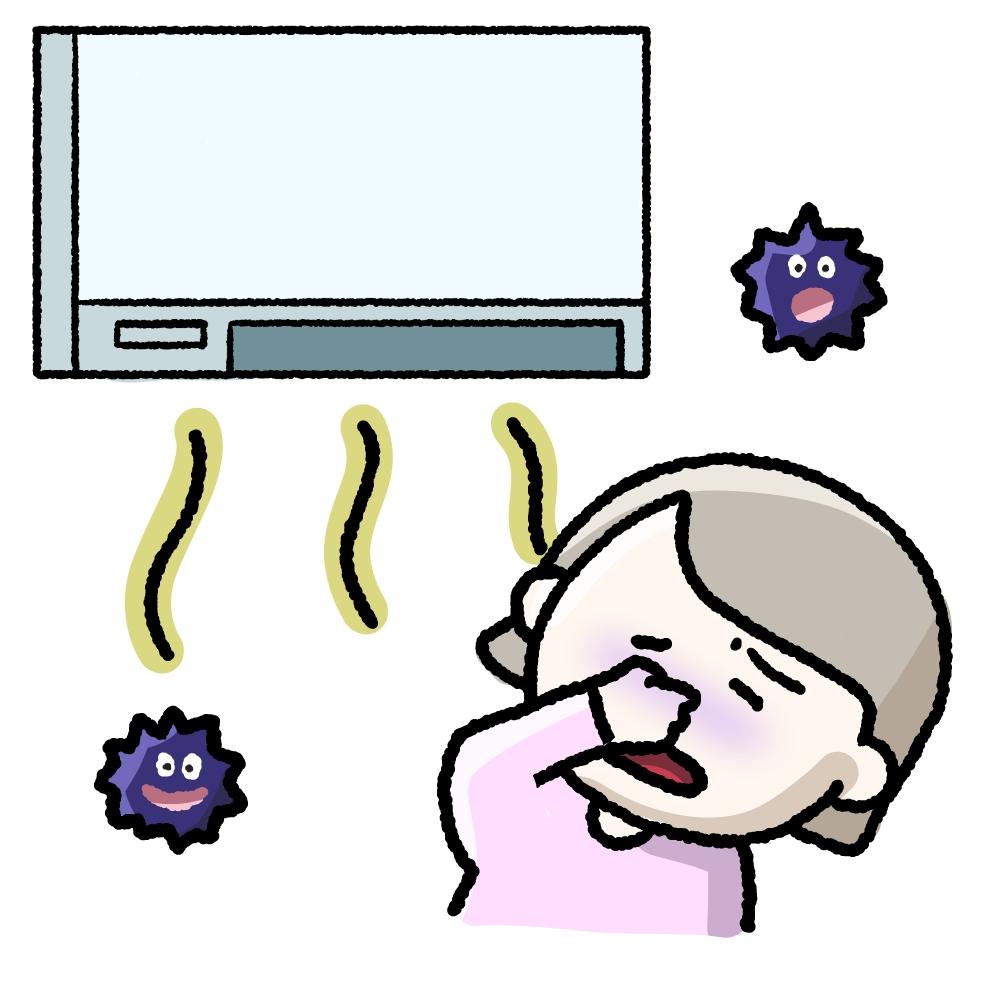 エアコン 臭い 応急 処置
