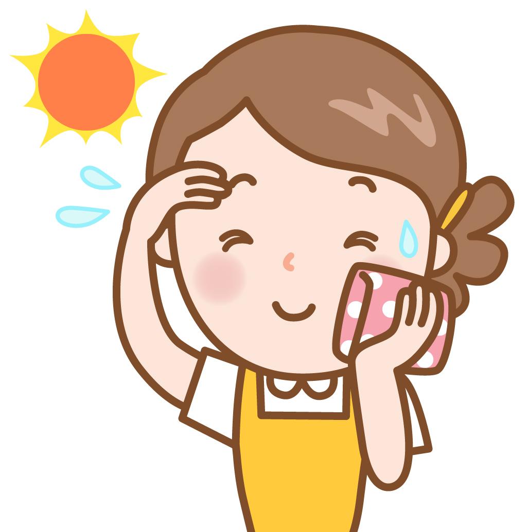 顔 汗 止める 方法