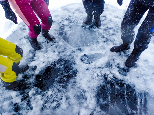 北海道 流氷 ウォーク 時期