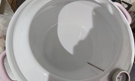 富士 ホーロー 天ぷら鍋